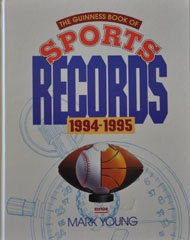 9780816026555: The Guinness Book of Sports Records 1994-1995