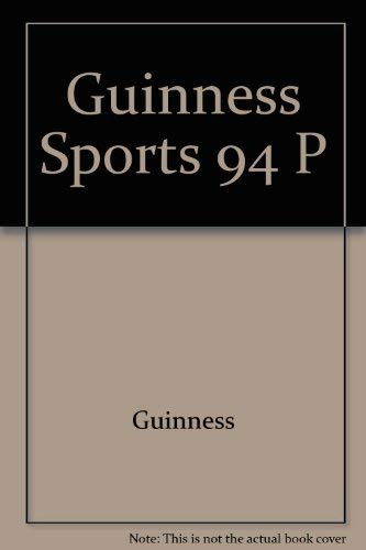 9780816026562: The Guinness Book of Sports Records 1994-1995