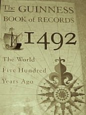 9780816027729: The Guinness Book of Records 1492: The World Five Hundred Years Ago