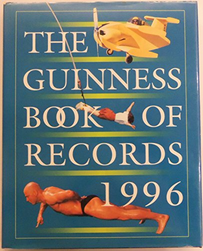 9780816028610: The Guinness Book of Records 1996 (Guinness World Records)
