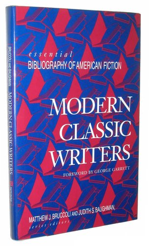 9780816030026: Modern Classic Writers (Essential bibliography of American fiction)