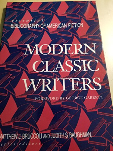 9780816030033: Modern Classic Writers (Essential Bibliography of American Fiction)