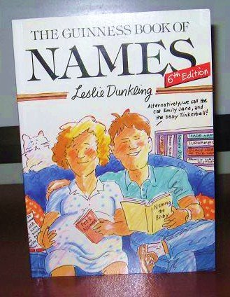 9780816030064: The Guinness Book of Names