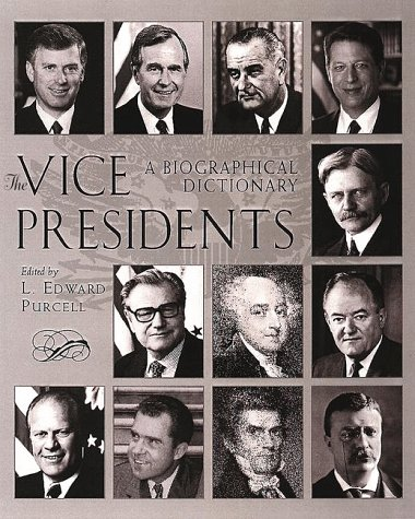 9780816031092: The Vice Presidents: A Biographical Dictionary