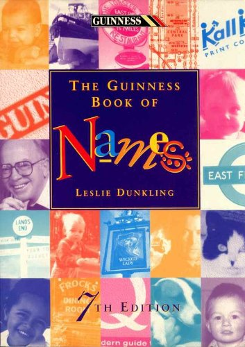 9780816034192: The Guinness Book of Names