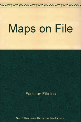 Maps on File (0816036683) by Facts on File Inc