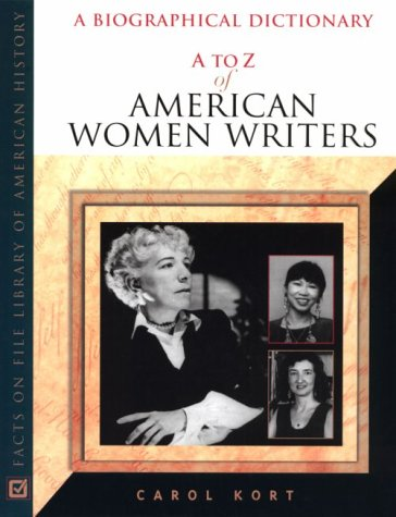 9780816037278: A to Z of American Women Writers (A to Z of Women)