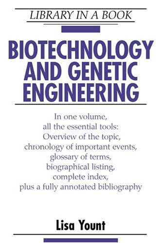 9780816040001: Biotechnology and Genetic Engineering (LIBRARY IN A BOOK)
