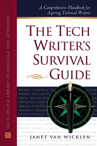 9780816040384: The Tech Writer's Survival Guide: A Comprehensive Handbook for Aspiring Technical Writers