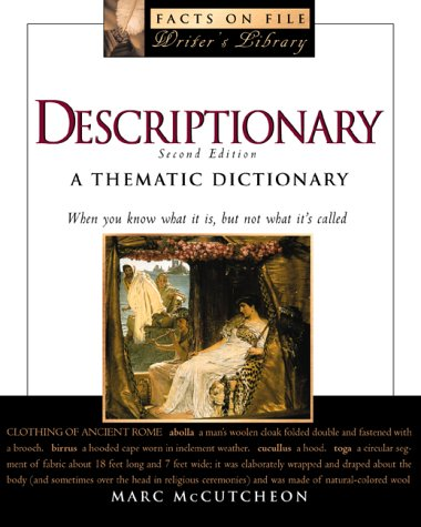 9780816041060: Descriptionary (Facts on File Writer's Library)