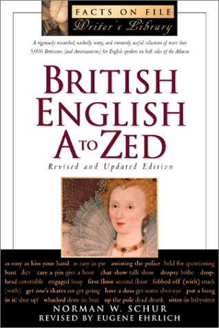 9780816042395: British English A to ZEd (The Facts on File Writer's Library)