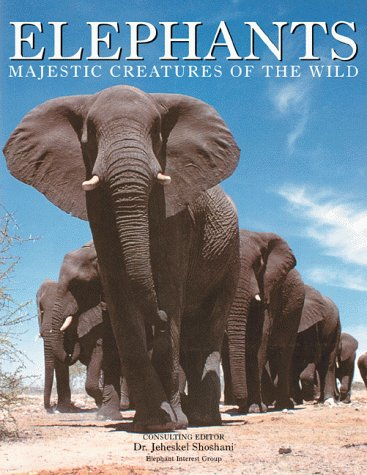 9780816042944: Elephants: Majestic Creatures of the Wild (Mighty Creature Series)