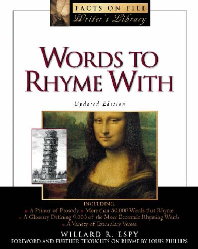 9780816043125: Words to Rhyme with (Facts on File Library of Language and Literature)