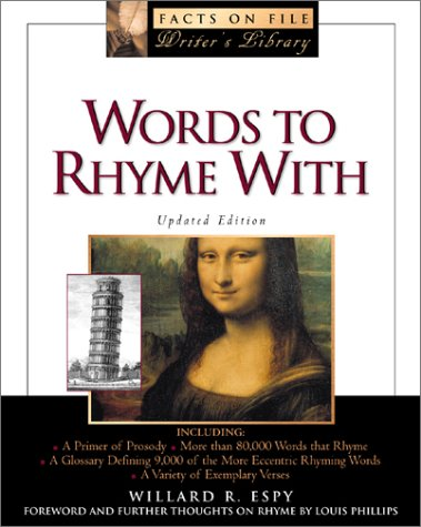 9780816043132: Words to Rhyme with: For Poets and Songwriters (The Facts on File Writer's Library)