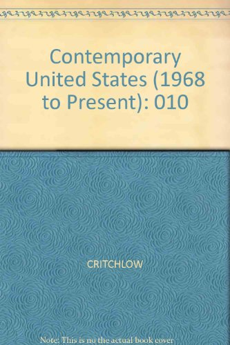 9780816043705: Encyclopedia of American History: Contemporary United States, 1969 the the Present (Encyclopedia of American History, Volume X)