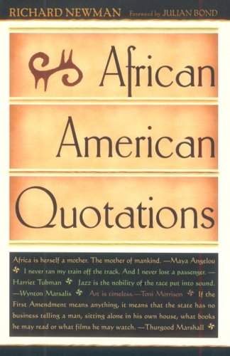 9780816044399: African American Quotations