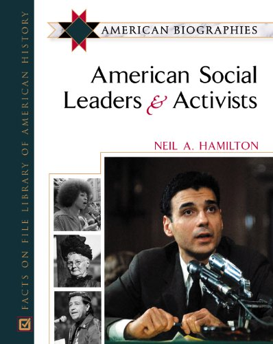 9780816045358: American Social Leaders and Activists: American Biographies