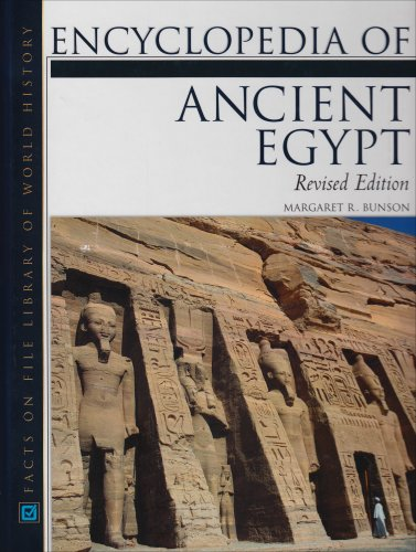 9780816045631: Encyclopedia of Ancient Egypt (Facts on File Library of World History)
