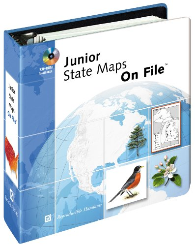 Junior State Maps on File (Facts on: Editor-Facts on File