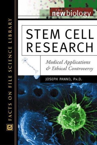9780816049493: Stem Cell Research: Medical Applications and Ethical Controversy (New Biology)