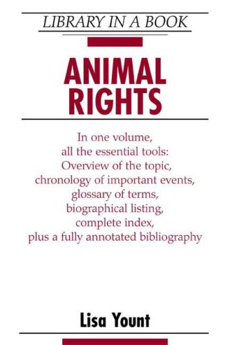 9780816050277: Animal Rights (Library in a Book)