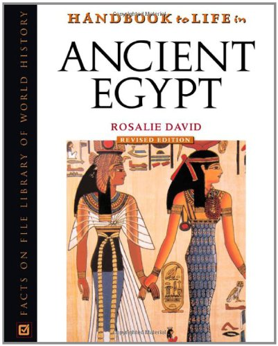 9780816050345: Handbook to Life in Ancient Egypt