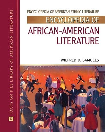 9780816050734: Encyclopedia of African-American Literature (Encyclopedia of American Ethnic Literature)