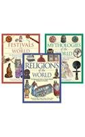 The Illustrated Guide to Customs and Beliefs Set, 3-Volumes (Hardback)
