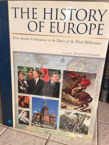 9780816051526: The History of Europe (Facts on File Library of World History)