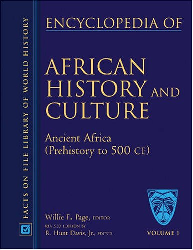 9780816051991: Encyclopedia Of African History And Culture, 5 Vol. Set