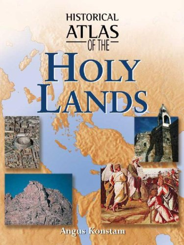 9780816052196: Historical Atlas of the Holy Lands**OUT OF PRINT**