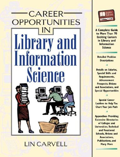 9780816052448: Career Opportunities in Library and Information Science