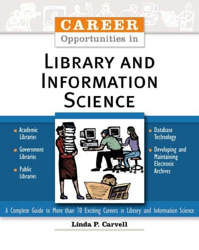 9780816052455: Career Opportunities In Library And Information Science
