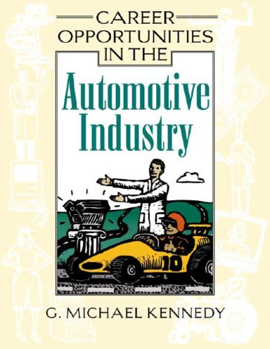 9780816052462: Career Opportunities in the Automotive Industry