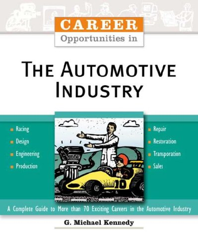 9780816052479: Career Opportunities in the Automotive Industry