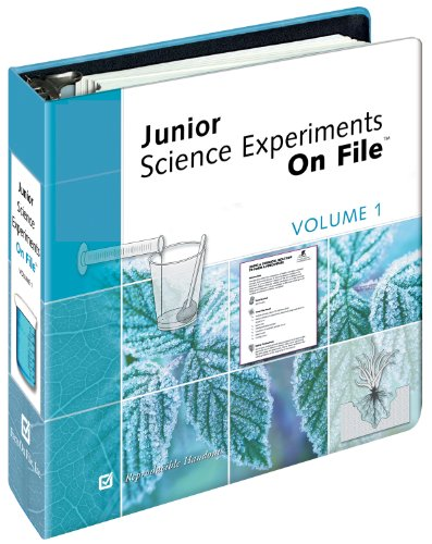 9780816052813: Junior Science Experiments on File (Volume 1)