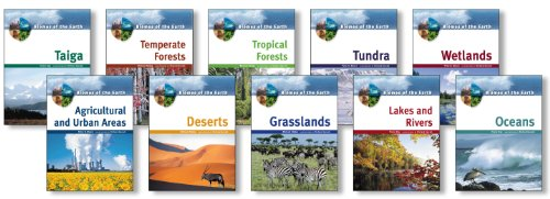 Biomes of the Earth - 10 Book Set: Moore, Day, Allaby