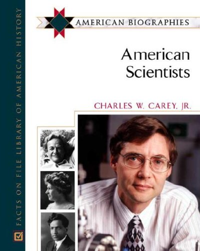 9780816054992: American Scientists (American Biographies)