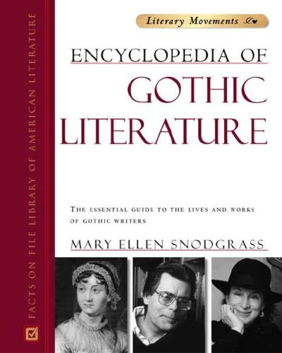 9780816055289: Encyclopedia Of Gothic Literature