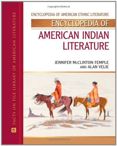 9780816056569: Encyclopedia of American Indian Literature (Encyclopedia of American Ethnic Literature)