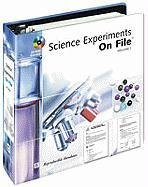 9780816057344: Science Experiments On File, Vol. 1