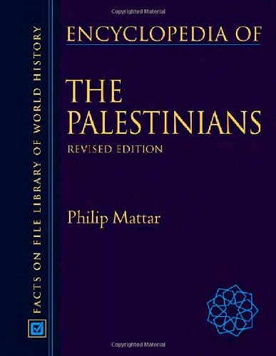 9780816057641: Encyclopedia Of The Palestinians (Facts on File Library of World History)