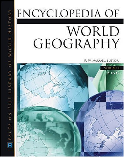 9780816057863: Encyclopedia Of World Geography, 3-Volume Set (Facts on File Library of World Geography)