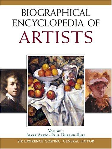 9780816058037: Biographical Encyclopedia of Artists (4 Volume Set)