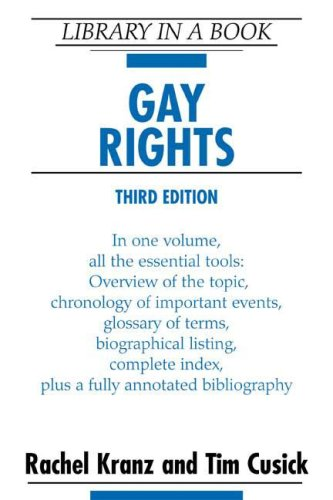 9780816058105: Gay Rights (Library in a Book)