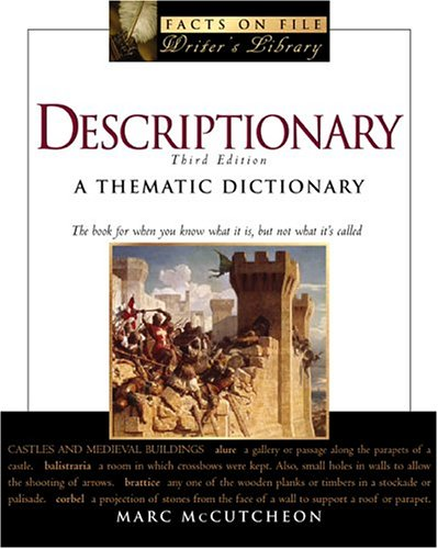 9780816059263: Descriptionary: A Thematic Dictionary (Facts on File: Writer's Library)
