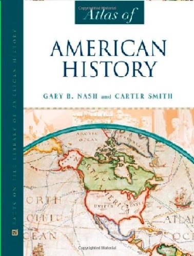 9780816059522: Atlas of American History (Facts on File)