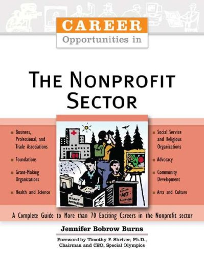 9780816060047: Career Opportunities in the Nonprofit Sector**Out of Print**