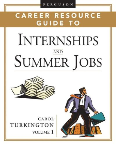 9780816060191: Ferguson Career Resource Guide to Internships And Summer Jobs (Ferguson Career Resource Guide) (2 Volume Set)