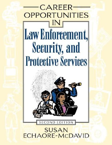 9780816060702: Career Opportunities In Law Enforcement, Security And Protective Services